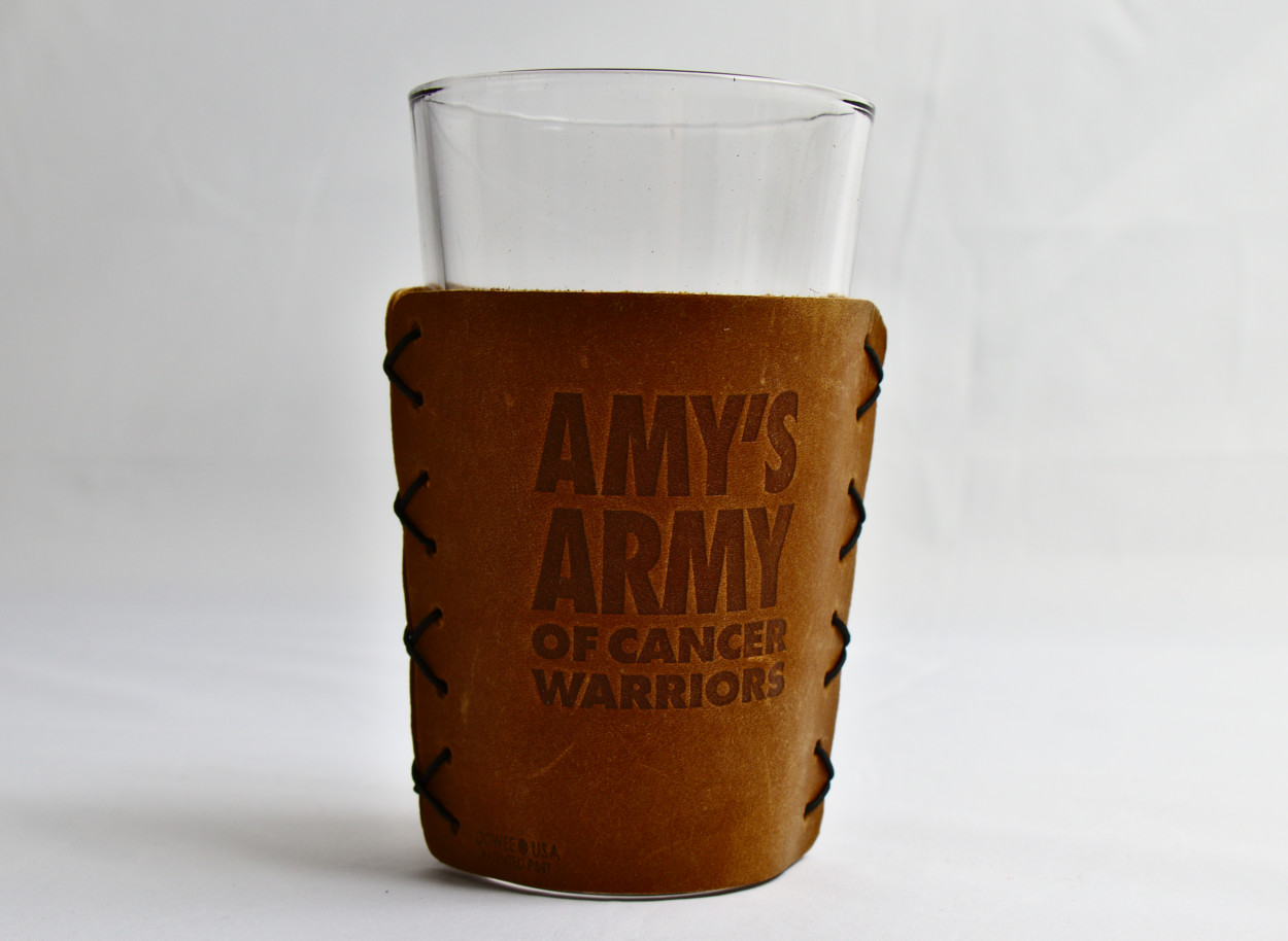 3c5fe207523 Pint Glass and Leather Sleeve – Amy s ArmyRVA