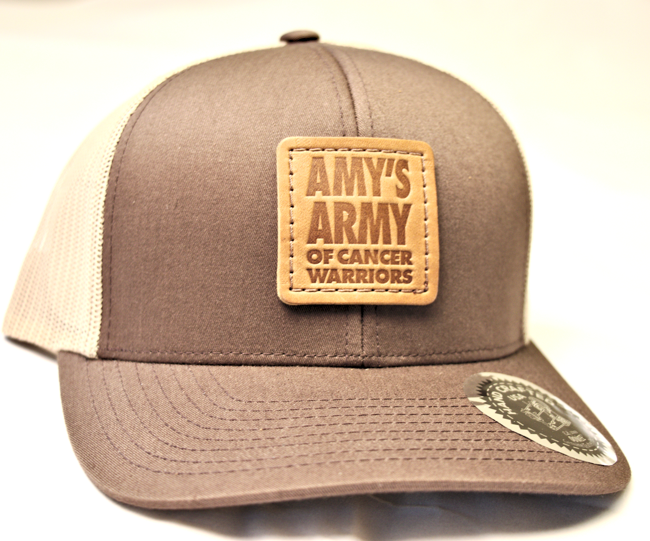 a5aca6e2c77 Trucker Hat Brown and Tan – Amy s ArmyRVA