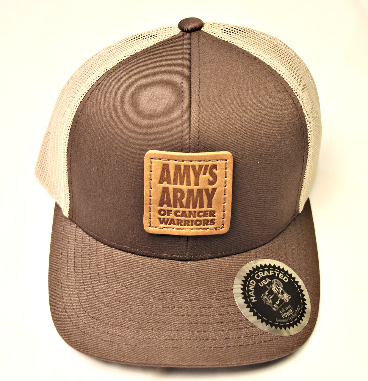 Trucker Hat Brown and Tan – Amy s ArmyRVA a505cc1c4