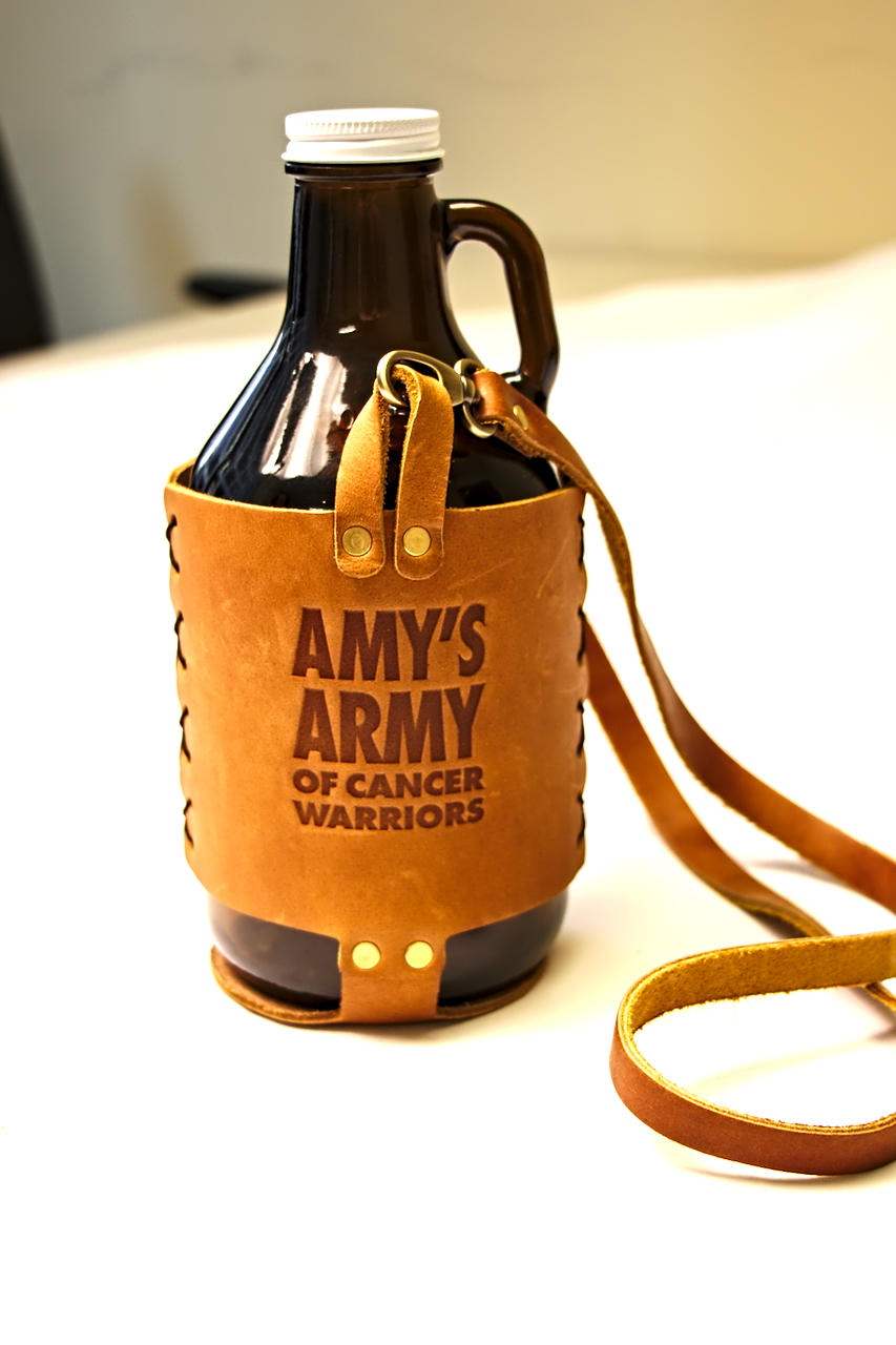 dda0061b0e5 Amy s Army Leather Growler Carrier – Amy s ArmyRVA
